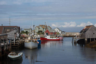 Peggy's Cove Art Print by Nick Sayles
