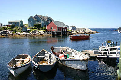 Photograph - Peggys Cove Nova Scotia by Alyce Taylor