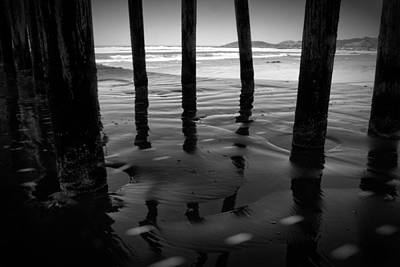 Photograph - Peir Legs by Matt  Trimble