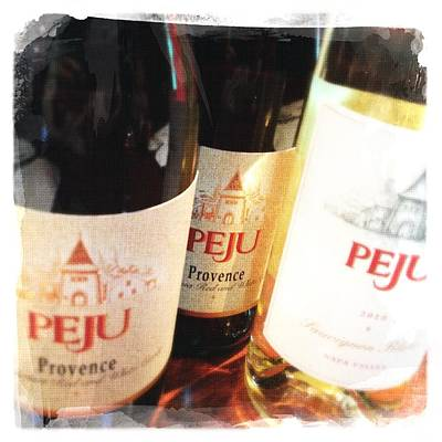 Instagood Photograph - Peju Provence by Penelope Moore