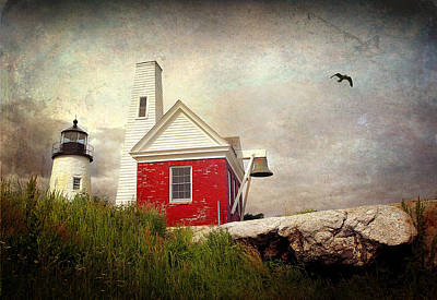 Photograph - Pemaquid Light by Fred LeBlanc