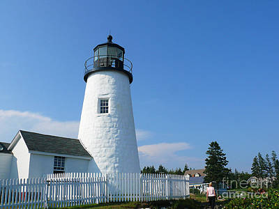 Art Print featuring the photograph Pemaquid Lighthouse by Jeanne  Woods