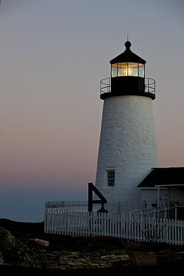 Photograph - Pemaquid Point Aglow by Sara Hudock