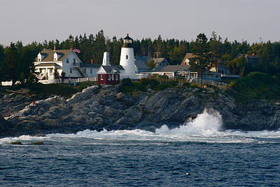 Photograph - Pemaquid Point Light by Joe Faherty