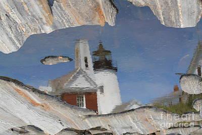 Pemaquid Point Light Art Print by John Doble