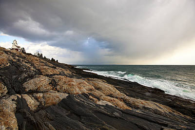 Photograph - Pemaquid by Sara Hudock