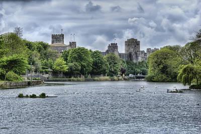 Sultry Plants - Pembroke Castle by Steve Purnell