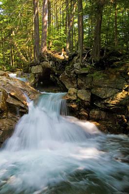 Photograph - Pemigewasset Falls by Paul Mangold
