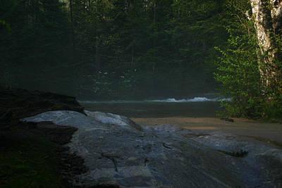 Photograph - Pemigewasset River by Benjamin Dahl