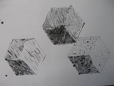 Drawing - Pen And Ink One by AJ Brown