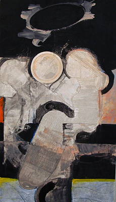 Cardboard Mixed Media - Penalty  by Cliff Spohn