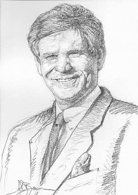 Drawing - Pencil 11 by John D Benson