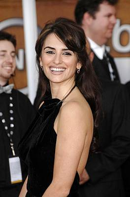 Penelope Cruz At Arrivals For Arrivals Art Print