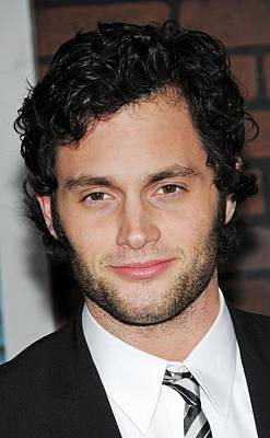 Alice Tully Hall At Lincoln Center Photograph - Penn Badgley At Arrivals For Sherlock by Everett