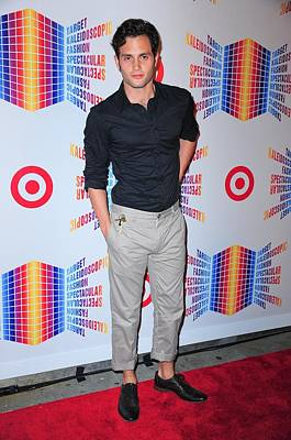 Penn Badgley In Attendance For Target Art Print by Everett