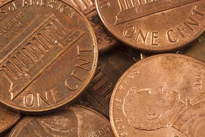 Caravaggio - Pennies 4 by John Brueske