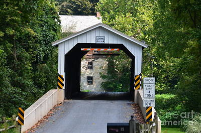 Photograph - Pennsylvania Covered Bridge by Randy J Heath