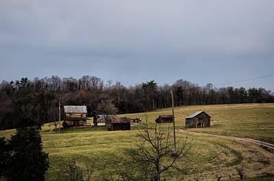Barn Photograph - Pennsylvania Farm Country by Bill Cannon