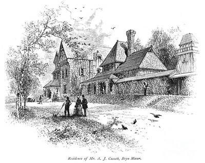 Pennsylvania: House, 1876 Art Print by Granger