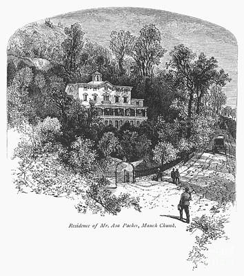 Pennsylvania: House, C1876 Art Print by Granger