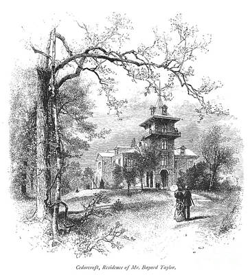 Pennsylvania: Mansion Art Print by Granger