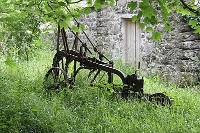 Photograph - Pensioned Plough by Ed Lukas