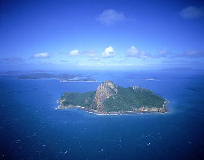 Pentecost Photograph - Pentecost Island (aerial) by Photograph By David Messent