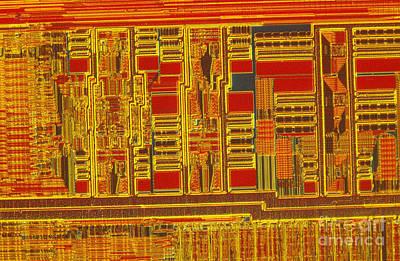 Processor Photograph - Pentium by Michael W. Davidson