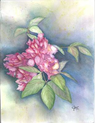 Peonies Art Print by Elise Boam