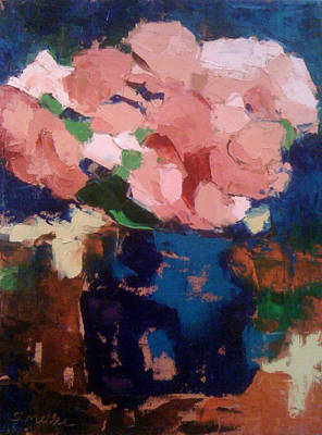 Painting - Peonies by Sylvia Miller