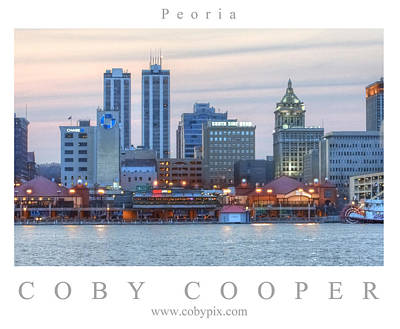 Photograph - Peoria by Coby Cooper