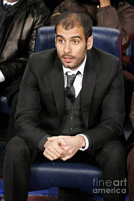 Photograph - Pep Guardiola by Agusti Pardo Rossello