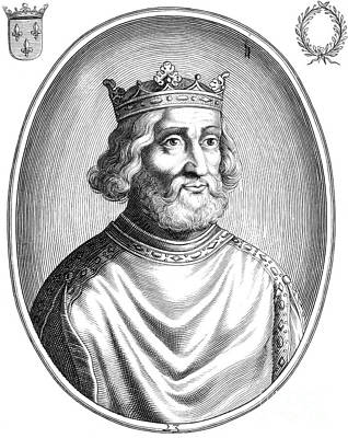 Pepin The Younger, First King Art Print