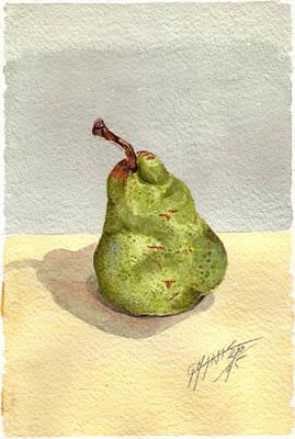 Pera Art Print by Giovanni Marco Sassu