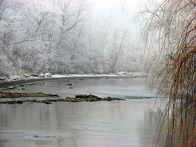 Mixed Media - Perch Creek Hoar Frost by Bruce Ritchie