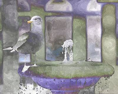 Painting - Perched by Lynda K Cole-Smith