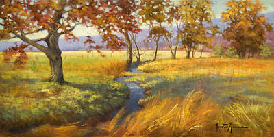 Cades Cove Painting - Perfect Afternoon by Jonathan Howe