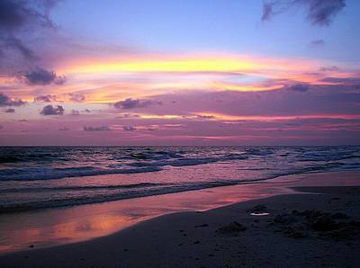 Panama City Beach Photograph - Perfect Ending by Susan Medeiros
