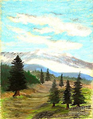 Painting - Perfect Pines Peak by Jessi and James Gault