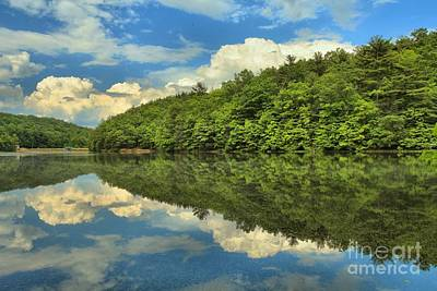 Perfect Reflections Art Print by Adam Jewell
