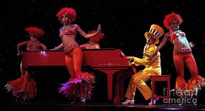 Elton John Photograph - Performance 2 by Bob Christopher
