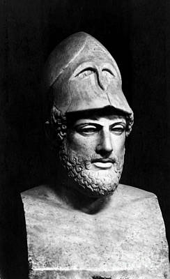 Pericles, Ancient Greek Ruler Art Print