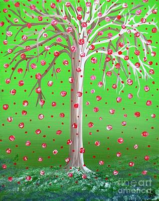 Royalty-Free and Rights-Managed Images - Peridot Wishing Tree by Alys Caviness-Gober