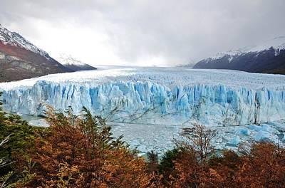 Y120817 Photograph - Perito Moreno Glacier by My1stimpressions.com