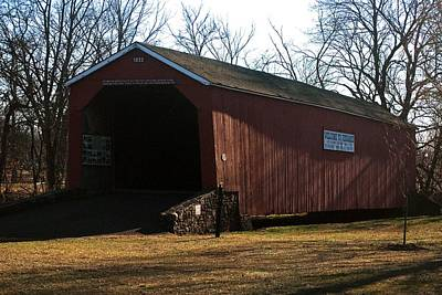Photograph - Perkasie Covered Bridge by Elsa Marie Santoro