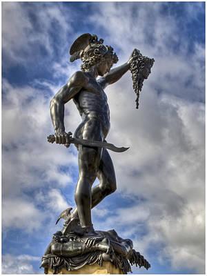 Medussa Photograph - Perseus And Medussa by Nigel Jones