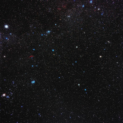 Perseus Constellation Art Print by Eckhard Slawik