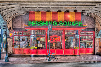 Photograph - Pershing Square Central Cafe I by Clarence Holmes