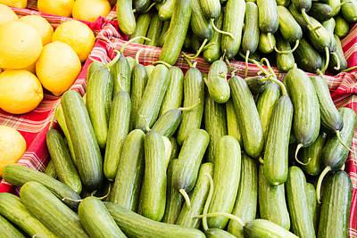 Photograph - Persian Cucumbers by Dina Calvarese