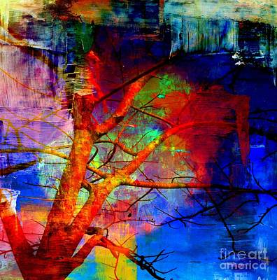 Mixed Media - Persist Through Difficulties by Fania Simon